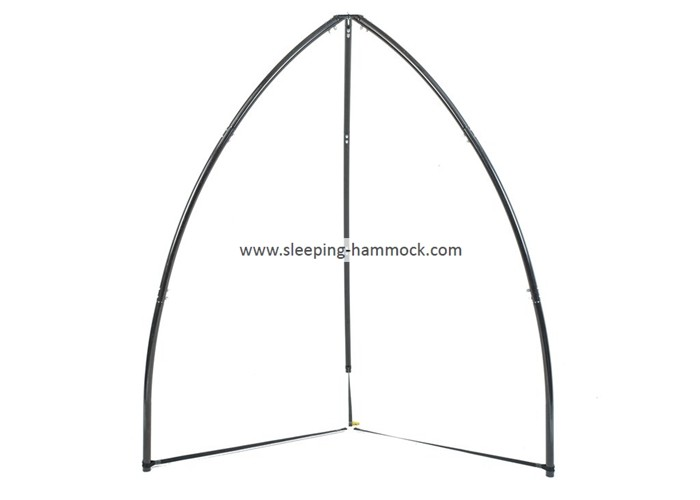 Outdoor C Frame Hammock Chair Stand For Hanging House , Hammock Chair Holder